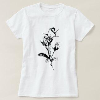 Original Artwork | Rose Black Ink Drawing | Roses T-Shirt