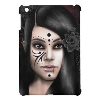 """Original artwork """"vampire phase"""" iPad mini case"""