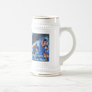 Original Artworks on Mugs. Beer Stein