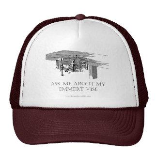 "Original ""Ask Me About My Emmert Vise""  Cap Trucker Hat"