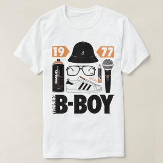 Original B-Boy Graffiti Breaking MC DJ Hip Hop Tee