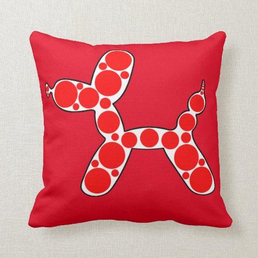 Original Balloon Dog design throw pillow Zazzle