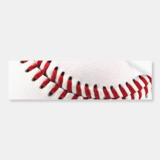 Original baseball ball bumper sticker
