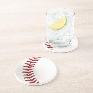 Original baseball ball drink coaster