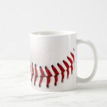 sports, baseball, ball, funny, customized, game, photography, cool, hobby, custom, monogram, create your own, sport, fun, mug, Caneca com design gráfico personalizado