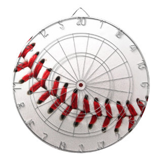 Original baseball ball dartboard with darts