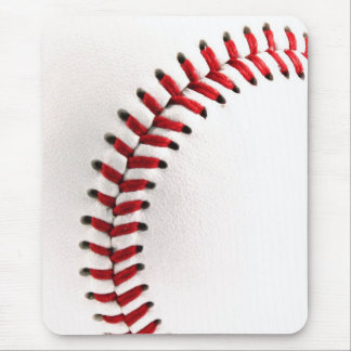 Original baseball ball mouse pad
