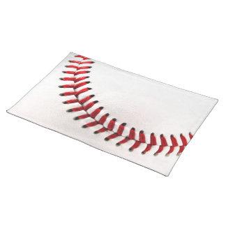 Original baseball ball placemat
