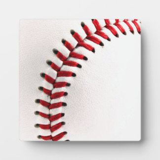 Original baseball ball plaque