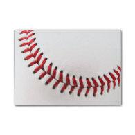 Original baseball ball post-it® notes
