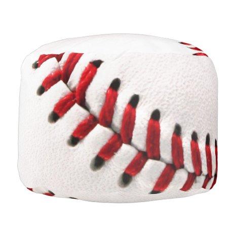 Original baseball ball pouf