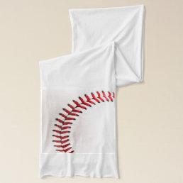 Original baseball ball scarf