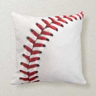 Original baseball ball throw pillow