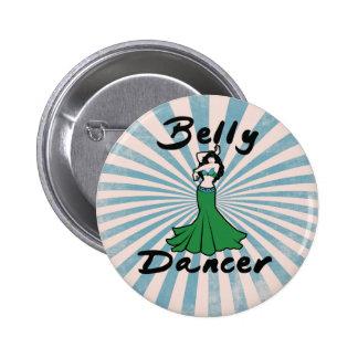 Original Belly Dance Pop Art Pinback Button