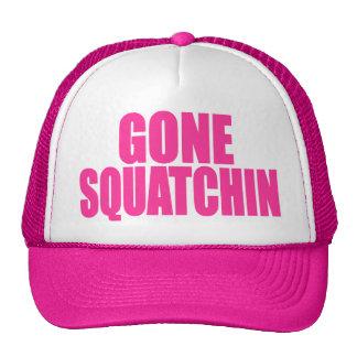 Original Best-Selling Bobo s GONE SQUATCHIN Pink Mesh Hats
