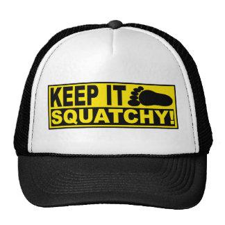Original Best-Selling Bobo s KEEP IT SQUATCHY Trucker Hat