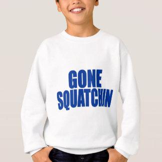 Original & Best-Selling Bobo's GONE SQUATCHIN Blue Sweatshirt