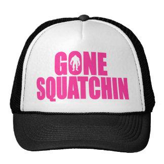 Original & Best-Selling Bobo's GONE SQUATCHIN Pink Trucker Hat