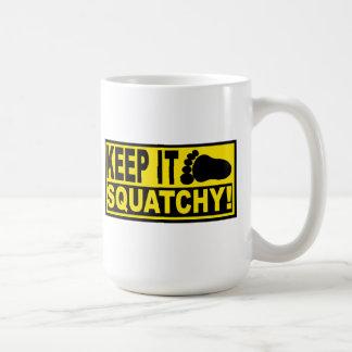 Original & Best-Selling Bobo's KEEP IT SQUATCHY! Coffee Mug