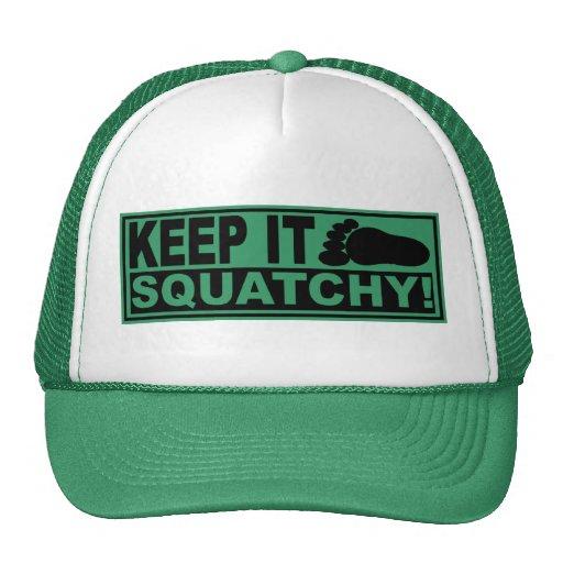 Original & Best-Selling Bobo's KEEP IT SQUATCHY! Trucker Hat
