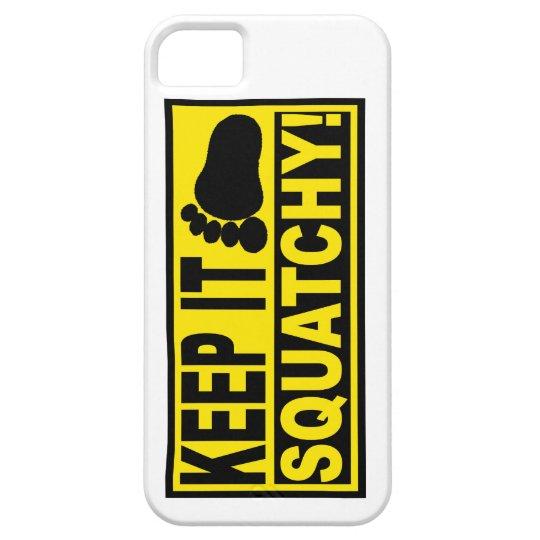 Original & Best-Selling Bobo's KEEP IT SQUATCHY! iPhone SE/5/5s Case
