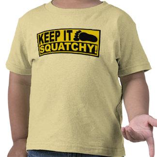 Original & Best-Selling Bobo's KEEP IT SQUATCHY! T-shirt