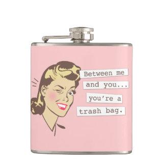 Original Between Me & You Trashbag Flask
