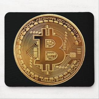 Original Bitcoin Symbol Logo Graph Mouse Pad