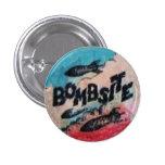 Original Bombsite Fanzine Button