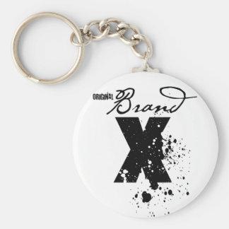 Original Brand X Logo Key Chains