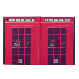 Original british phone box case for iPad air
