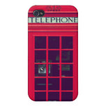 Original british phone box iPhone 4/4S covers