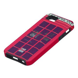 Original british phone box iPhone SE/5/5s case
