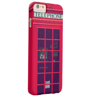 Original british red phone box barely there iPhone 6 plus case