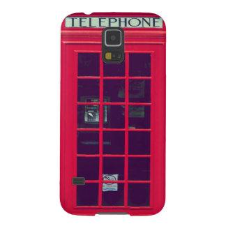 Original british red phone box galaxy s5 cases