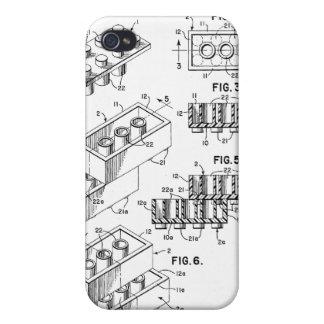 Original Building Brick Patent iPhone Case iPhone 4/4S Case