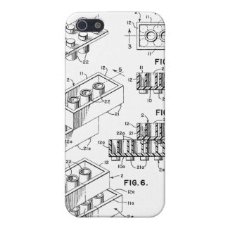 Original Building Brick Patent iPhone Case iPhone 5 Case