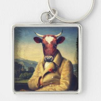 Original Bull Art Keychain