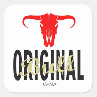 Original Bull by VIMAGO Square Sticker