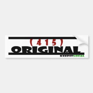 Original Bumper Sticker - 415