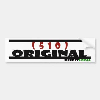 Original Bumper Sticker - 510