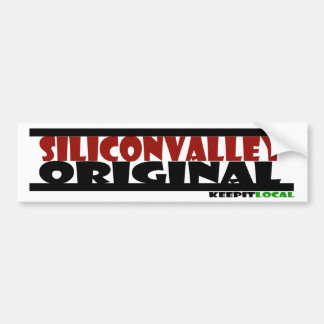 Original Bumper Sticker - Silicon Valley