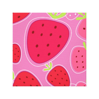 Original canvas with Strawberries