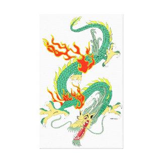 Original Chinese Dragon Canvas Canvas Print