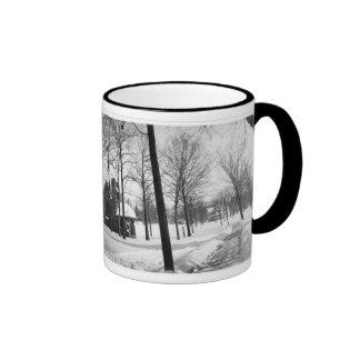 Original Christ Church Panorama Coffee Mugs