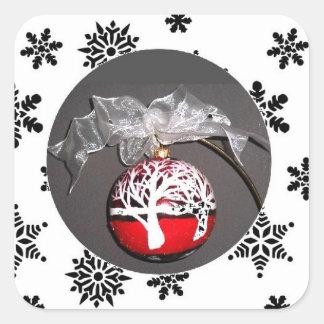 Original Christmas Ornament Sticker