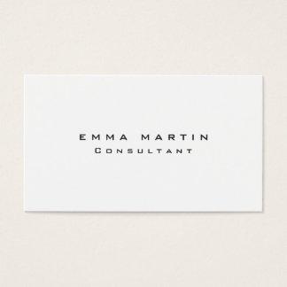 Original Clean Black White Unique Business Card