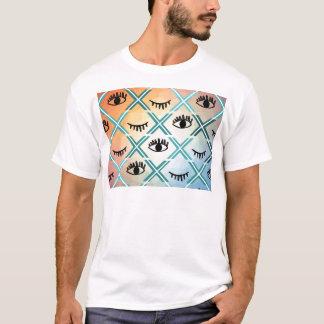 Original Colorful Eyes Design T-Shirt