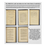 ORIGINAL Constitution Amendment XIII Evidence Print