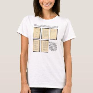 ORIGINAL Constitution Amendment XIII Evidence T-Shirt